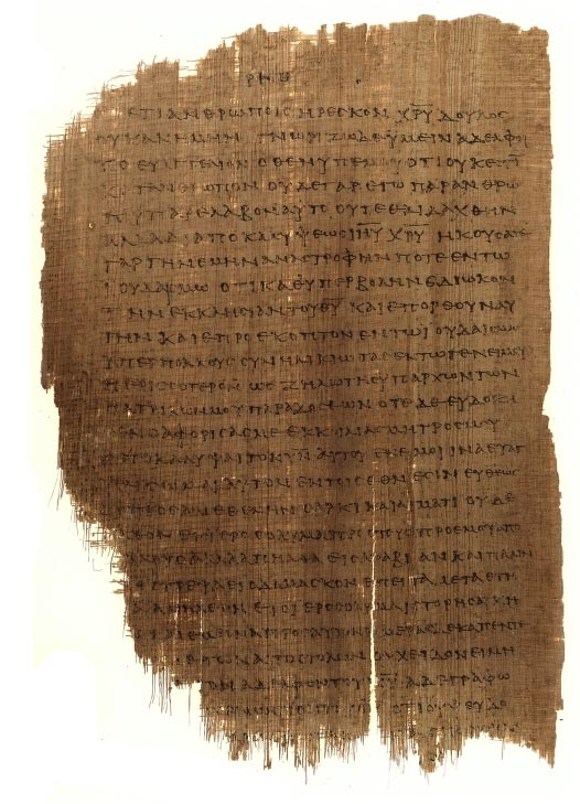 Chester beatty papyrus 46 download
