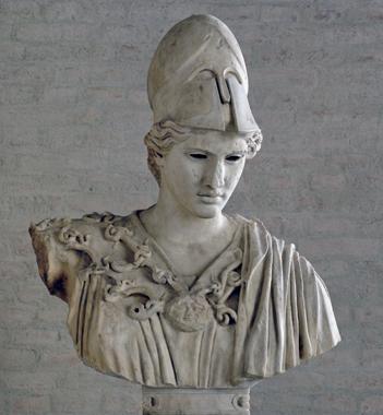 Velletri Athena, Glyptothek-